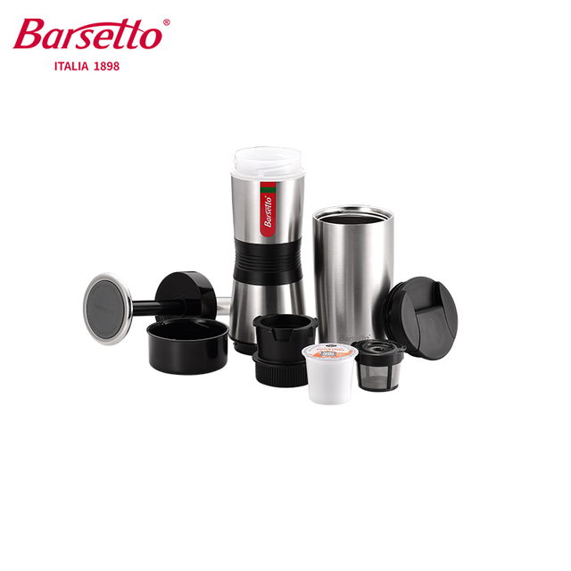 Портативная ручная кофеварка Barsetto BAH400n