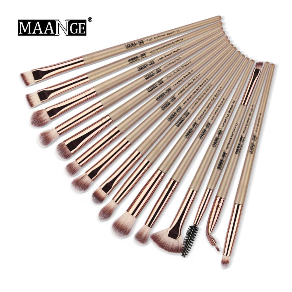 15pcs Makeup Brush Plastic Handle Eyeshadow Brush Beauty Tools Neutral Manufacturer Direct Cosmetic 1 Make Up Storage Tool