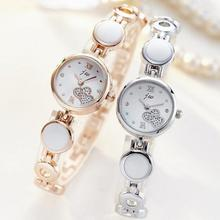 JW Luxury Women Pearl Bracelet Watches Fashion Clock Dress Wristwatch Ladies Quartz Sport Rose Gold Watch Gift Dropshiping