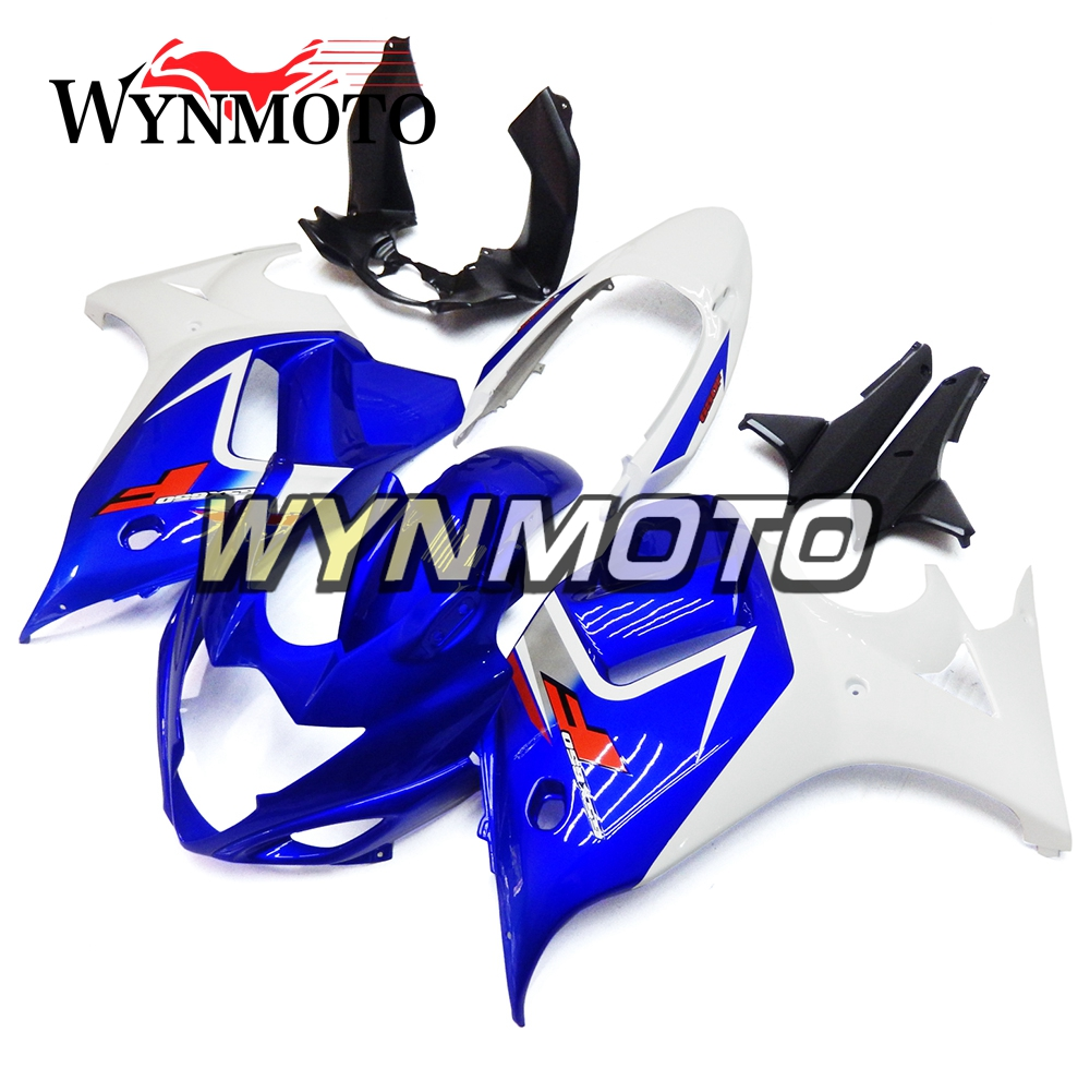 Blu Bianco Full ABS Carenature Per Suzuki GSX650F Katana 2008-2013 09 10 11 12 Moto Carena Kit Coperchi carrozzeria