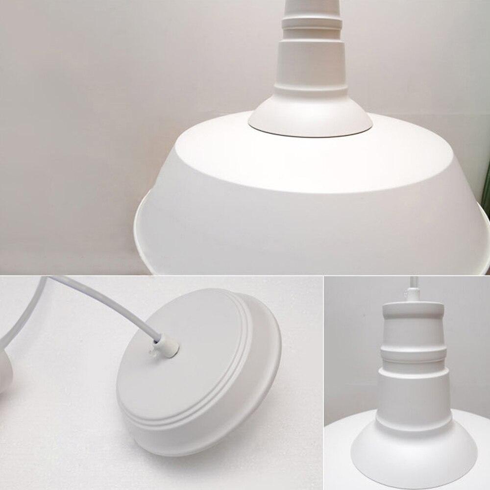 Vintage Anhänger Lichter Weiß Metall Schatten Leuchten Küche Insel ...