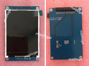 2.8 inch 24PIN TFT LCD Color Screen Module ILI9341 Drive IC 16Bit Parallel Interface 240(RGB)*320 parallel
