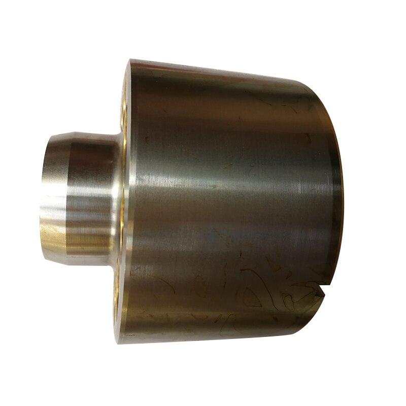 Placa da válvula de bloco de cilindro para o reparo PV90R75 PV90R130 hidráulico SAUER bomba de pistão peças de reposição acessórios