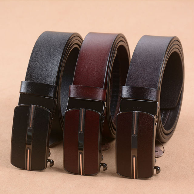 cowhide genuine leather belts for men brand Strap male fancy vintage jeans  free shipping
