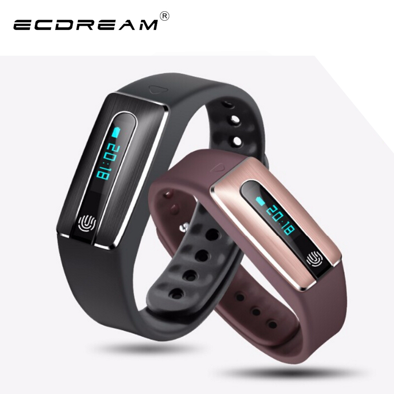 Original smart bracelet HB02 NFC pedometer heart rate monitor calorie count life water proof smart band