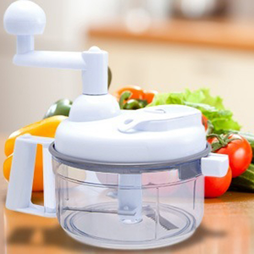 Hot Multi-Function Hand Crank Vegetable Meat Chopper Mixing Kitchen Tool Store 48
