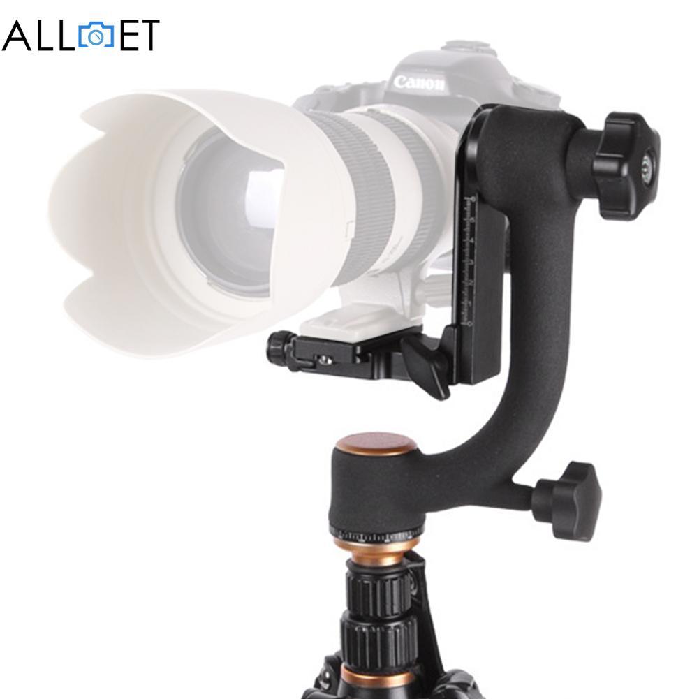 Vis verticale professionnelle de trépied de cardan de 360 degrés panoramique pour l'appareil-photo