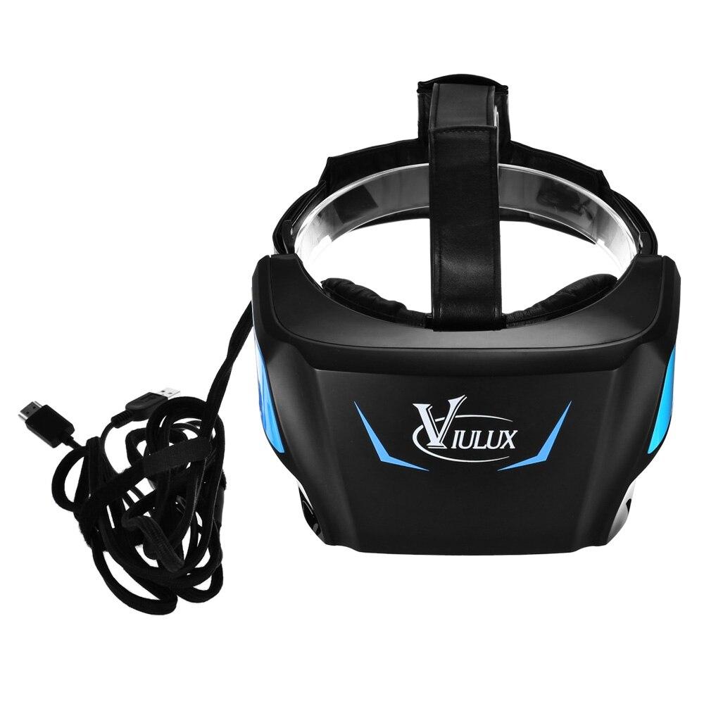 VIULUX V1 VR 3D Auriculares para PC de 5.5 pulgadas 1080 P Soporte Objeto de Aju