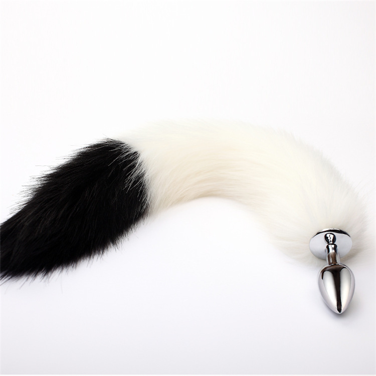 Newest Fox <font><b>Tail</b></font> Fetish Stainless Steel Anal Plug <font><b>Sex</b></font> <font><b>Toys</b></font> ,Butt Plug Animal <font><b>Cat</b></font> Fox <font><b>Tail</b></font> <font><b>Sex</b></font> <font><b>Toy</b></font> For Women Roleplay Adult Games image