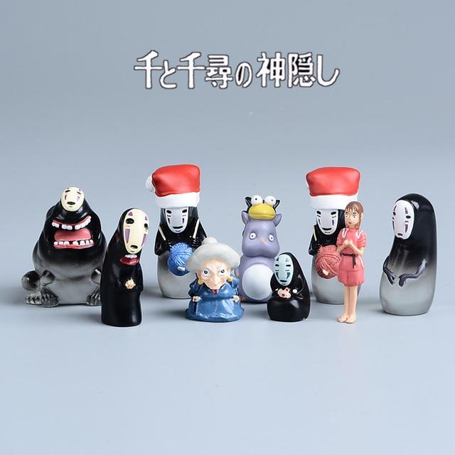 Мини-фигурки героев аниме Унесенные призраками 2