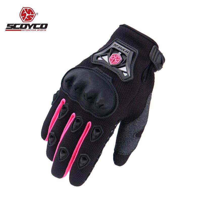 Женские мотоциклетные перчатки, летние перчатки для езды на велосипеде, S, M, L, XL