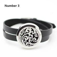 316L stainless steel aromatherapy bracelet 25mm 30mm essenital oil diffuser bracelets for women twist(Free 5pcs Felt Pads)