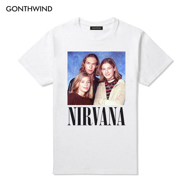 9e963877 Online Shop 2017 Hanson Nirvana Parody Vintage T Shirts Unisex Funny ...