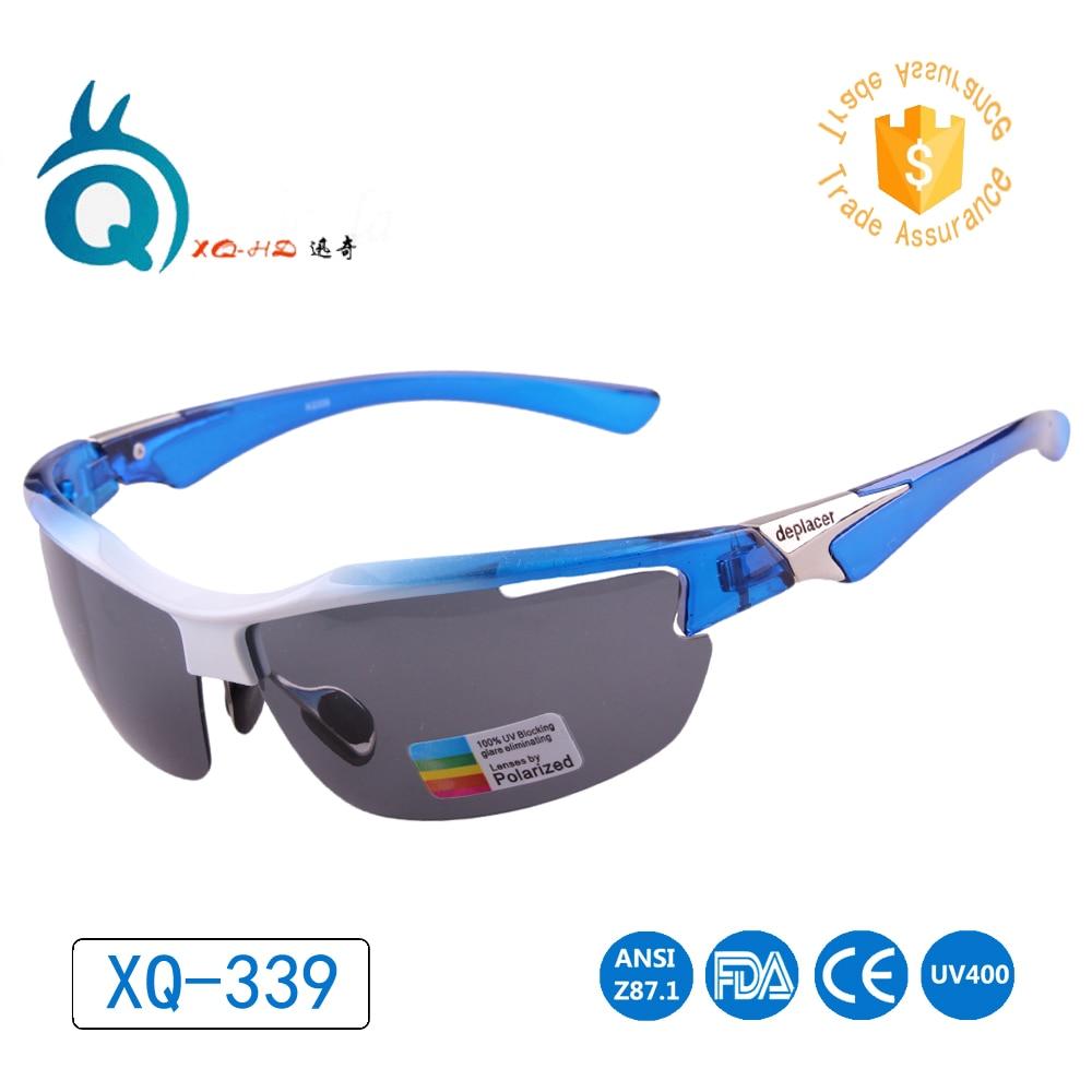 Fresh blue color frame as ocean color professional polarized sport sunglasses design for Adult