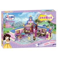 Winner 5004 Genuine 460pcs Princess Snow White Girls Room Series Building Blocks Assembled Gift toys for children