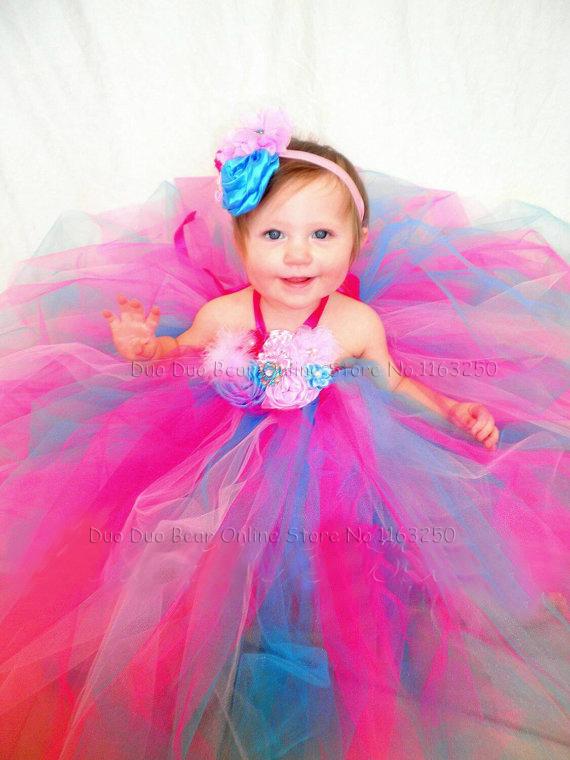 Fine High Quality Cute Newborn Baby Girl Party Dress Princess Crochet Short Hairstyles For Black Women Fulllsitofus