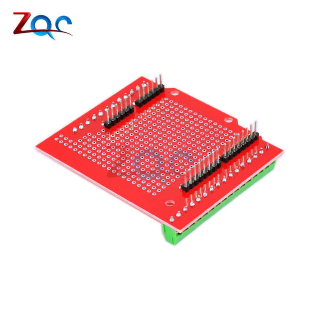 Proto Screw Shield 1 0 Assembled prototype terminal expansion board For  Arduino UNO MEGA2560 One