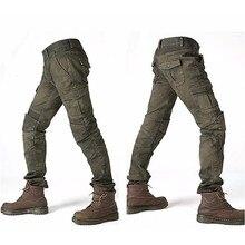 Мотоботы Komine UGB 02, джинсы-слаксы, джинсы для езды на мотоцикле, свободная версия с наколенниками, рыцарские штаны, летние штаны для верховой езды