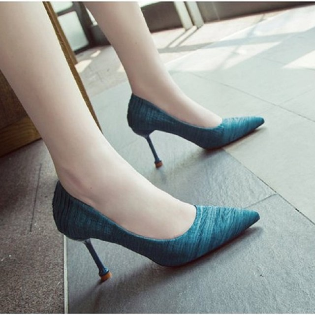 Cresfimix femmes talons hauts women fashion sweet beige comfortable office high heel shoes lady cool high heel pumps c2964