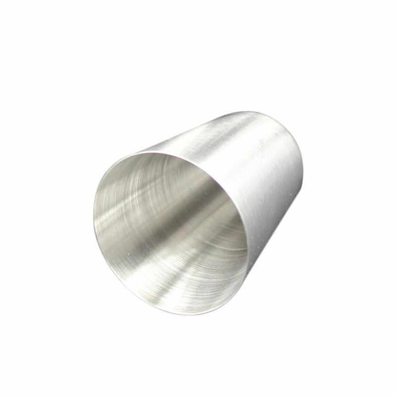30 مللي المدمجة حجم 1 قطعة الفولاذ المقاوم للصدأ غطاء القدح التخييم أكواب القدح شرب القهوة الشاي البيرة ل في الهواء الطلق السفر