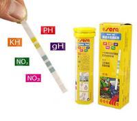 Sera 5 in 1 Easy Test Strips PH GH KH NO2 NO3 test kit aquarium fish tank water test kit