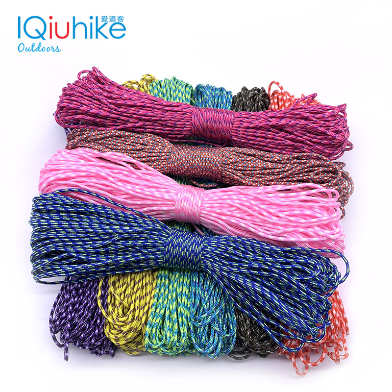 Paracord 2mm 50 FT 15 Meters one stand Cores Paracord Rope Cuerda Escalada Paracorde Bracelets Paracord Cord For Jewelry MakingParacord 2mm 50 FT 15 Meters one stand Cores Paracord Rope Cuerda Escalada Paracorde Bracelets Paracord Cord For Jewelry Making