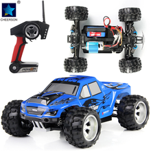 1:18 High Speed Off Road 50Km 2.4G 4WD Remote Control Racing Off Road RC Car Child Eletric Gift