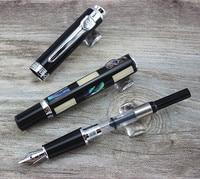 Jinhao Deep Sea яркий жемчуг в виде ракушки перьевая ручка с ручкой мешок мм 0,5 мм Металлические чернила ручки школьные принадлежности офисные