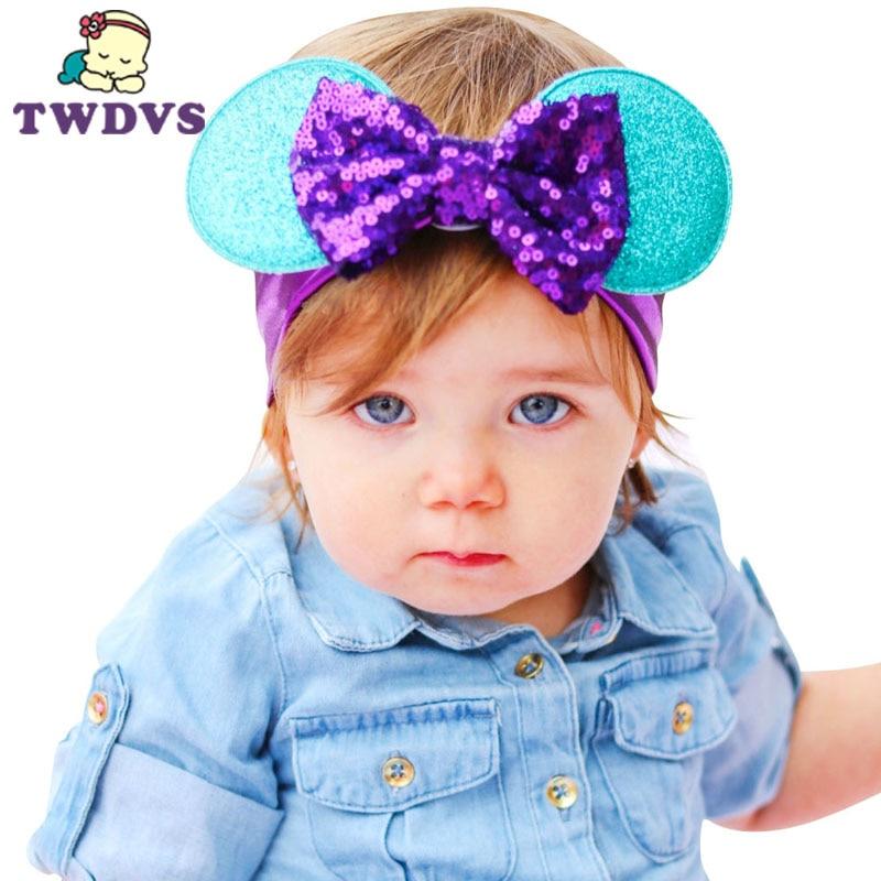 1PC dětská pokrývka hlavy dekorace více styl květiny elastická dětská čelenka novorozence vlasové pásky dětské vlasové doplňky kt063