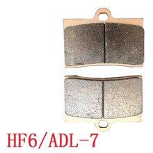 On sale Motorcycle Spare Parts Brake Pads Set of brake pads large abalone ADL-7 HF6 F101 High performance brake caliper