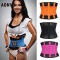 Sudor cinturón correa modelado faja de cintura para las mujeres de los hombres entrenador cintura que adelgaza vientre cinturón vaina underwear panza shaperwear