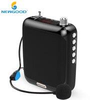 Portable Voice Amplifier Speaker Megaphone Loudspeaker Mini Speakers With Professional Wired Microphone For Teachers Speech