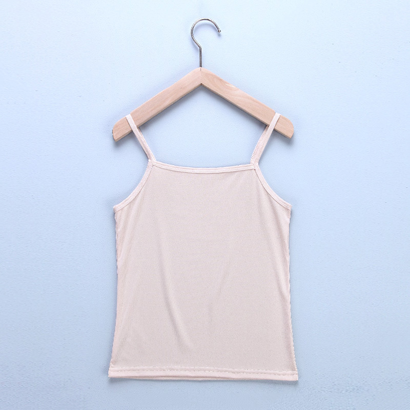 Women Sexy Top 2019 Summer Solid Color Soft Fabric Camisole Bottoming Slim Fit Femme Vest Sexy Feminino Vest in Camis from Women 39 s Clothing