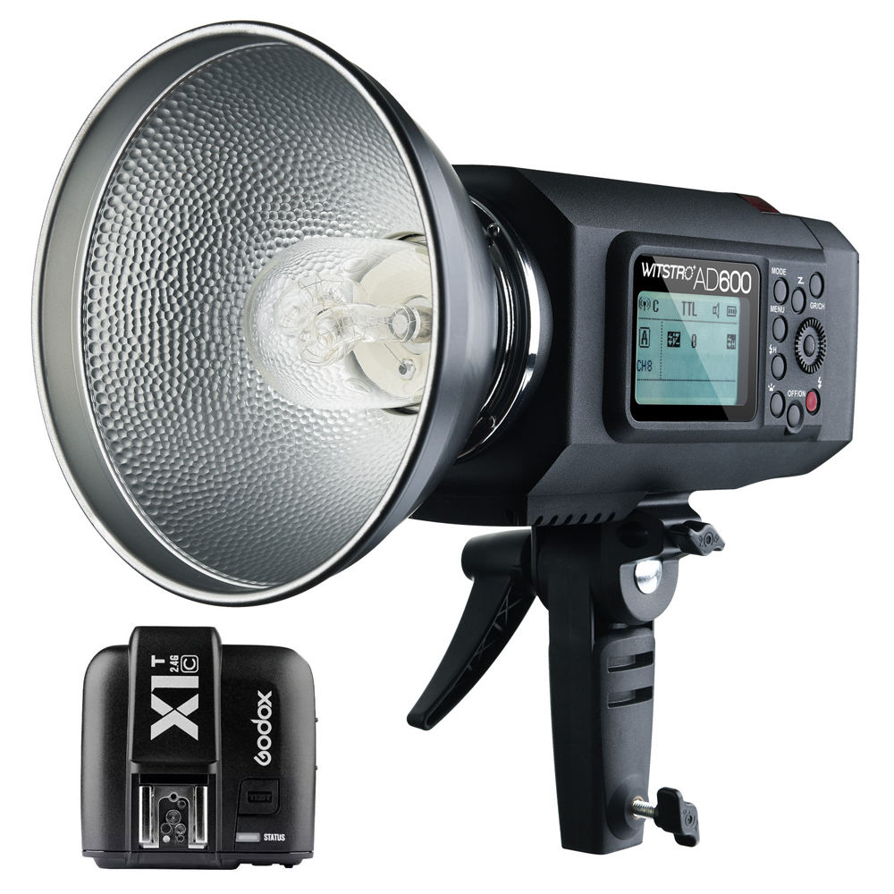 Godox AD600 600W TTL HSS Outdoor Flash with 2.4G X System + Godox X1C TTL Wireless Remote Flash Trigger for Canon