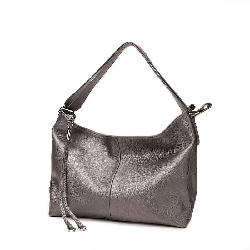 f053e9784336 Лидер продаж, Модные 100% мягкие сумки из натуральной кожи с ручкой сверху,  оптовая ...
