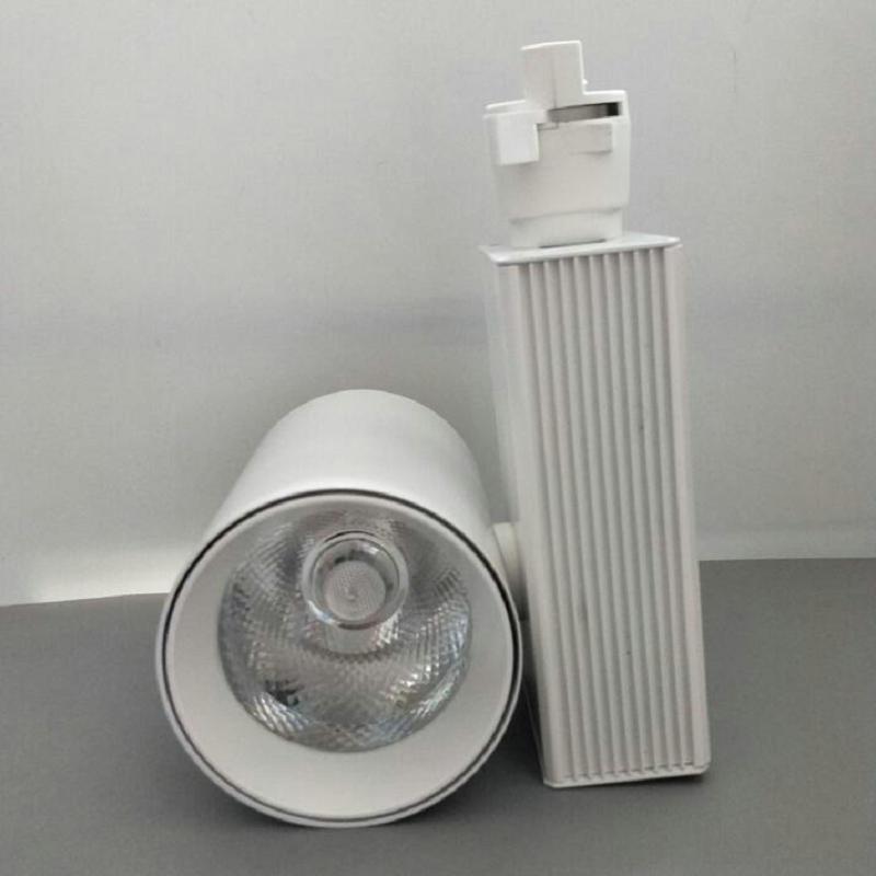 10PCS / LOT LED kolejnice COB 20W 30W stropní kolejnice světla pro kuchyňské oděvy Boty Obchody Obchody Skladby