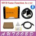 2016 Free ship !! Multi Vehicle Diag Bluetooth Version 2014 Release R2 MVD Orange Interface OBD2 OBDII Car Truck Diagnostic Tool