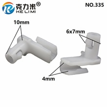 KE LI MI Auto Vehicle Connector Fixed Door Linkage Hook Lock Rod Core Peg Clips Nylon