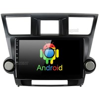 10.2 Android 8.0 Unit for Toyota Highlander Radio 2009 2010 2011 2012 Car Video Multimedia Player with Octa Core GPS BT 4G LTE