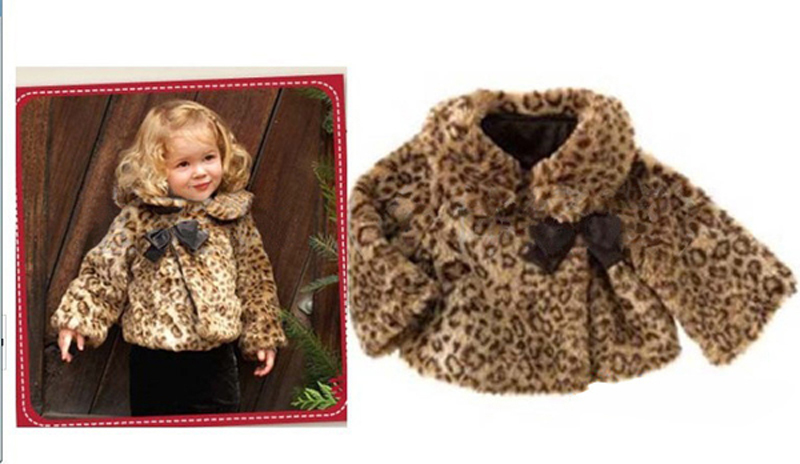 Girls Leopard Print Coat - Coat Nj