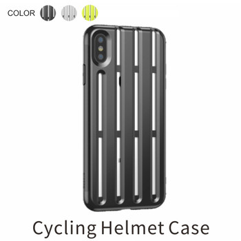 BASEUS Soft Phone Case for iPhone XR XS Max Cycling Helmet Soft TPU Back Phone Cover Case for iPhone XR 6.1 inch Celular Coque iPhone XR