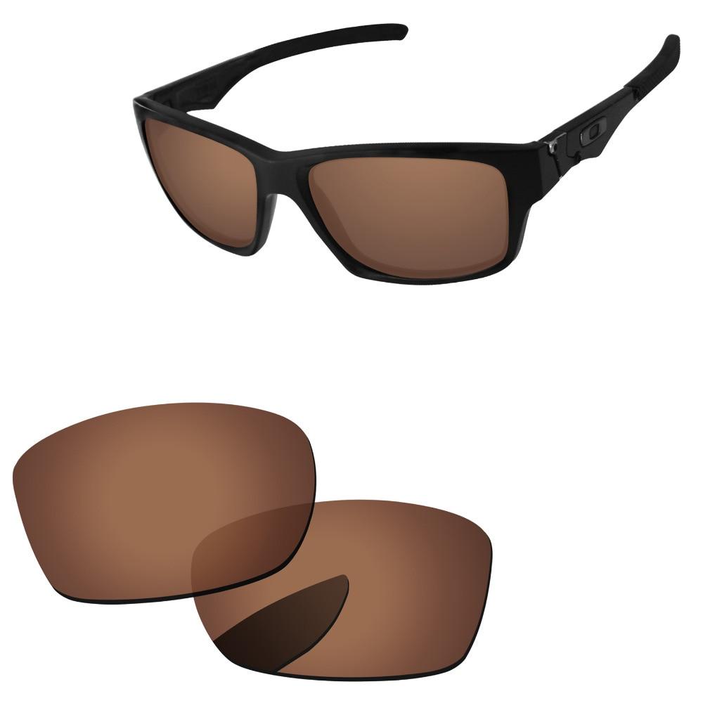 2b3cdb94631 Polycarbonate-Cuivre Brun verres de remplacement Pour Jupiter Carré monture  de lunettes de soleil 100% UVA et UVB Protection