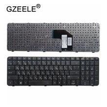 GZEELE รัสเซียแป้นพิมพ์สำหรับแล็ปท็อปสำหรับ HP Pavilion G6 2000 G6Z 2000 g6 2100 G6 2163sr AER36Q02310 R36 RU กรอบสีดำ G6 2365EA