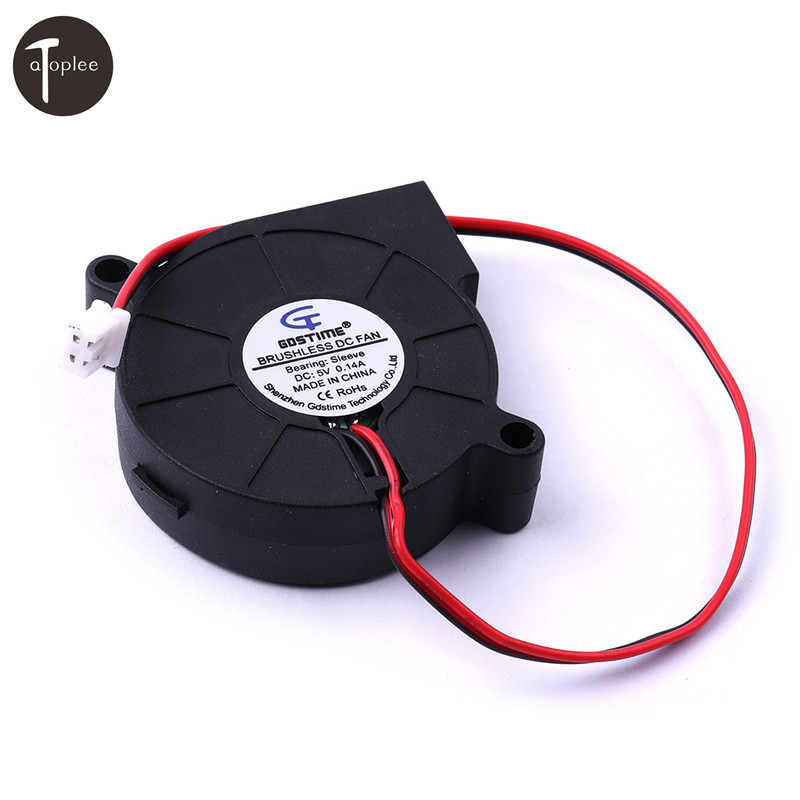Hot Sale 1PCS DC 5V 0.25A 1.75W Air Blower Fan For Turbine Brushless Cooling Blower Fan Exhaust Fans Motor 5000RPM Brand New