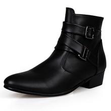 2016 Fashion Men Shoes Soft Leather Autumn Boots Men Waterproof Warm Shoes Men Comfortable Ankle Boots Man
