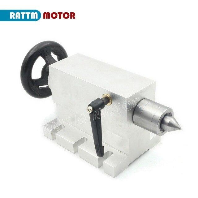 CNC contrapunto para eje giratorio (eje cuarto eje del eje de ...