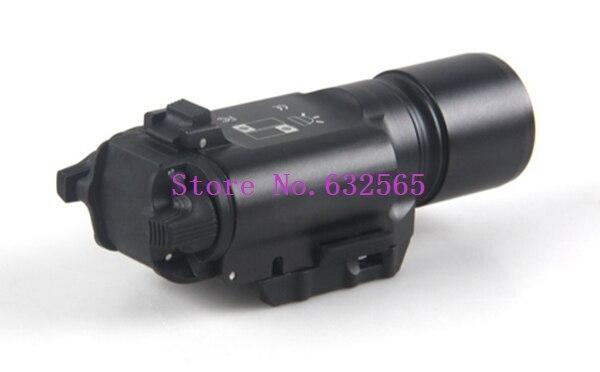 ФОТО 5 pcs/ lot  X300 Ultra LED Weapon Light Tactical Hunting light For CS Gun