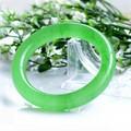 Infinity AA Natural Jade Burma Jade Bangle Love Indian Bangles Bracelets & Bangles for Women Men Jewelry