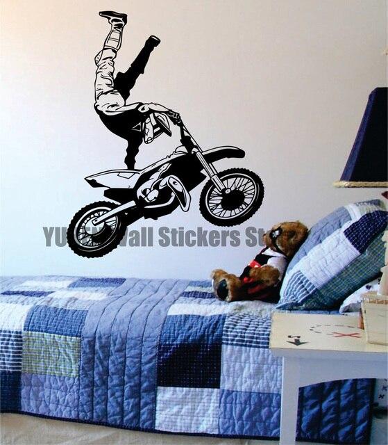 Motorcycle Decoration Carpet Vintage Carpet Wall Sticker Moto