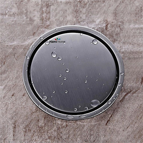 304 solid  stainless steel round anti-odor floor drain  bathroom hardware invisible shower floor drain 11-182 304 solid stainless steel square anti odor floor drain bathroom invisible shower floor drain floor waste